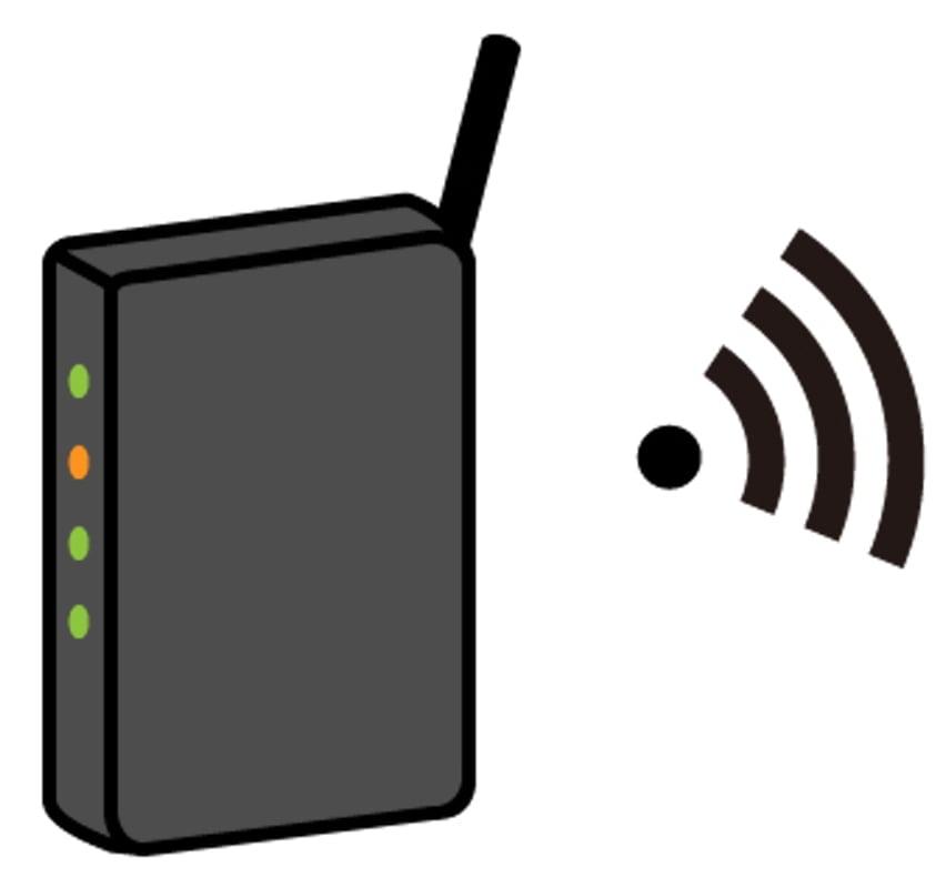 無線LANルーターに問題がないので「診断」で済ませました。